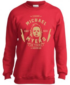Michael Myers 49 Years Of Horror Youth Sweatshirt