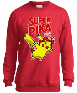 Super Mario Pikachu 1 Youth Sweatshirt