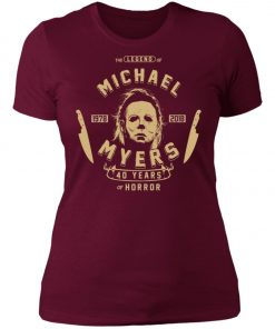 Michael Myers 49 Years Of Horror Women's T-Shirt