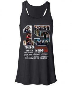 15 Years Of Criminal Minds Women's Tank Top