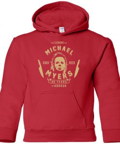 Michael Myers 49 Years Of Horror Premium Youth Hoodie