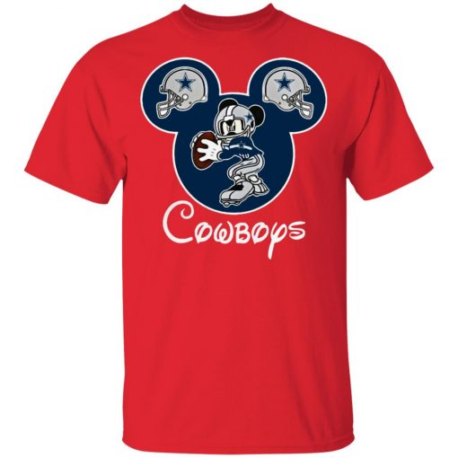 Mickey Mouse IS Cowboys Fans Unisex T-Shirt