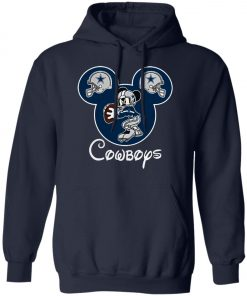 Mickey Mouse IS Cowboys Fans Pullover Hoodie