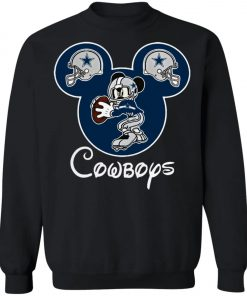 Mickey Mouse IS Cowboys Fans Sweatshirt