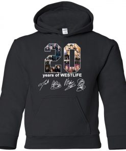 20 Years Of Westlife Premium Youth Hoodie