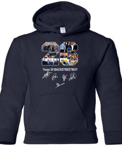 26 Years of Backstreet Boys Signature Premium Youth Hoodie