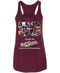 50 Years Of Bob Seger Thanks You For The Memories Women's Tank Top