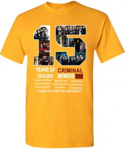 15 Years Of Criminal Minds Youth Kid T-Shirt