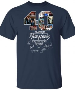 40Th Years Of Huey Lewis And The News Unisex T-Shirt