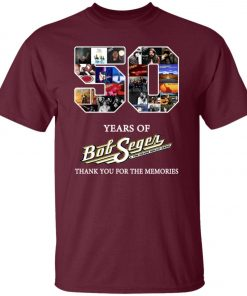 50 Years Of Bob Seger Thanks You For The Memories Unisex T-Shirt