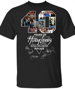 40Th Years Of Huey Lewis And The News Youth Kid T-Shirt
