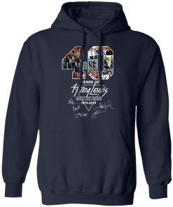 40Th Years Of Huey Lewis And The News Pullover Hoodie