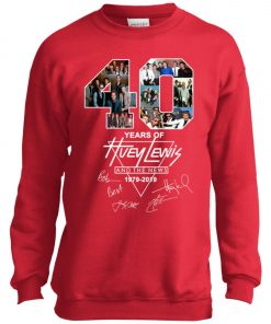 40Th Years Of Huey Lewis And The News Youth Sweatshirt