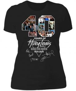 40Th Years Of Huey Lewis And The News Women's T-Shirt
