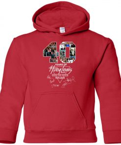 40Th Years Of Huey Lewis And The News Premium Youth Hoodie