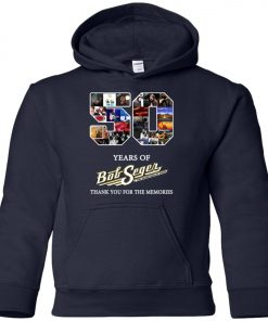50 Years Of Bob Seger Thanks You For The Memories Premium Youth Hoodie