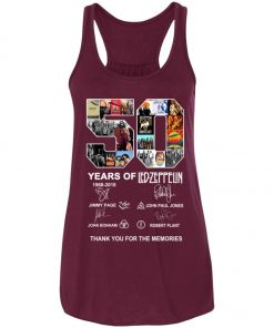 50 Years Of Led Zeppelin Signature Women's Tank Top