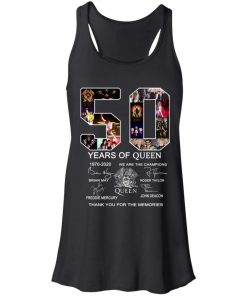 50 Years of Queen We Are The Champions Signature Women's Tank Top