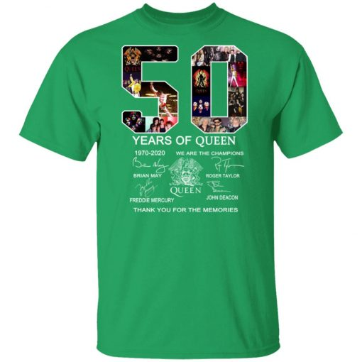 50 Years of Queen We Are The Champions Signature Unisex T-Shirt