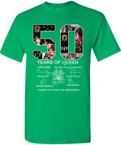 50 Years of Queen We Are The Champions Signature Youth Kid T-Shirt