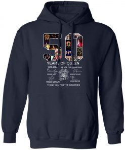 50 Years of Queen We Are The Champions Signature Pullover Hoodie