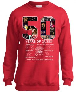 50 Years of Queen We Are The Champions Signature Youth Sweatshirt