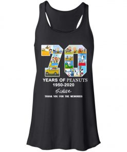 70 Years Of Peanuts 1950 2020 Schulz Women's Tank Top