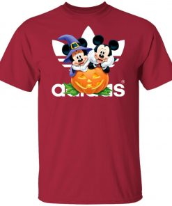 Adidas Mickey And Minnie Halloween Unisex T-Shirt