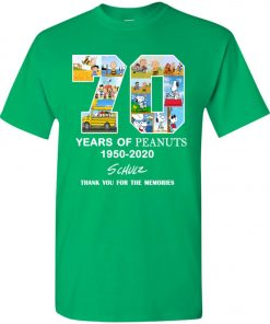 70 Years Of Peanuts 1950 2020 Schulz Youth Kid T-Shirt