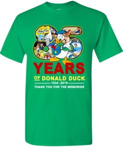 85 Years Of Donald Duck 11934 2019 Youth Kid T-Shirt