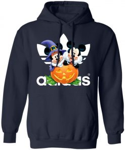 Adidas Mickey And Minnie Halloween Pullover Hoodie