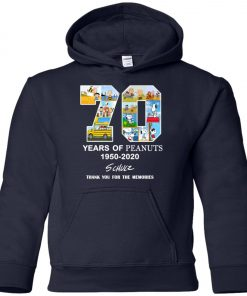 70 Years Of Peanuts 1950 2020 Schulz Premium Youth Hoodie