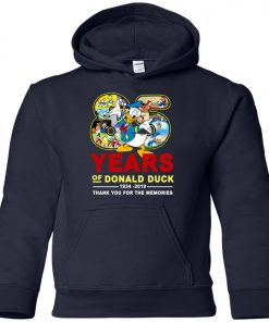 85 Years Of Donald Duck 11934 2019 Premium Youth Hoodie