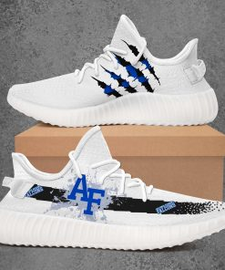 AIR FORCE FALCONS NCAA LIMITED EDITION WHITE YEEZY SNEAKER