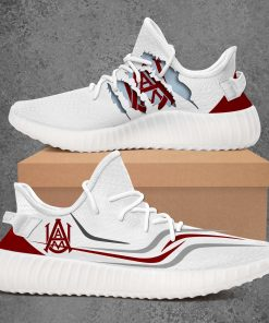 ALABAMA A&M BULLDOGS NCAA LIMITED EDITION WHITE YEEZY SNEAKER