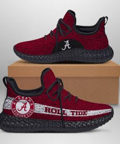 ALABAMA CRIMSON TIDE ROLL TIDE BLACK LIMITED EDITION YEEZY SNEAKER