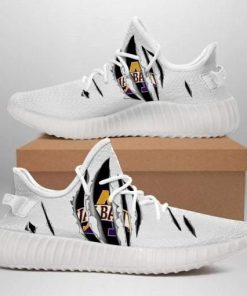 ALBANY GREAT DANES NCAA LIMITED EDITION WHITE YEEZY SNEAKER