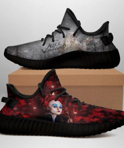 ALICE IN WONDERLAND LIMITED EDITION BLACK YEEZY SNEAKER