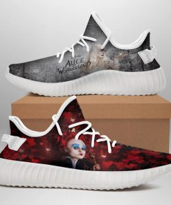 ALICE IN WONDERLAND LIMITED EDITION WHITE YEEZY SNEAKER