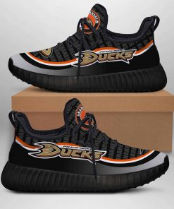 ANAHEIM DUCKS LIMITED EDITION BLACK YEEZY SNEAKER RUNNING BOOTS