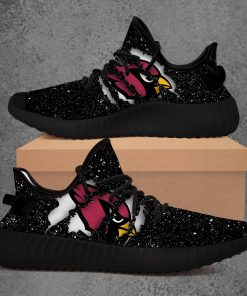 ARIZONA CARDINALS NFL LIMITED EDITION BLACK YEEZY SNEAKER RUNNING BOOTS
