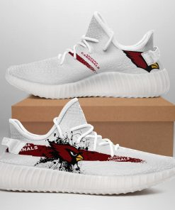 ARIZONA CARDINALS NFL LIMITED EDITION WHITE YEEZY SNEAKER RUNNING BOOTS