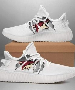 ARIZONA COYOTES NHL LIMITED EDITION WHITE YEEZY SNEAKER RUNNING BOOTS