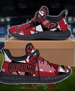 ARIZONA DIAMONDBACKS YEEZY SNEAKERS SHOES