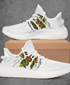 ARIZONA HOTSHOTS AAF LIMITED EDITION WHITE YEEZY SNEAKER RUNNING BOOTS