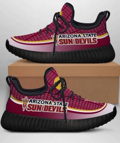ARIZONA STATE SUN DEVILS LIMITED EDITION BLACK YEEZY SNEAKER RUNNING BOOTS