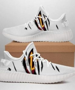 ARIZONA STATE SUN DEVILS NCAA LIMITED EDITION WHITE YEEZY SNEAKER RUNNING BOOTS