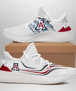 ARIZONA WILDCATS BASEBALL LIMITED EDITION WHITE YEEZY SNEAKER RUNNING BOOTS