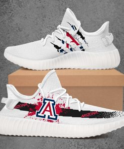 ARIZONA WILDCATS NCAA LIMITED EDITION WHITE YEEZY SNEAKER RUNNING BOOTS