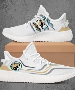 BEMIDJI STATE BEAVERS NCAA LIMITED EDITION WHITE YEEZY SNEAKER RUNNING BOOTS VER 1